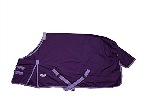 t Weight Horse Rain Sheet 600D, Purple, 72