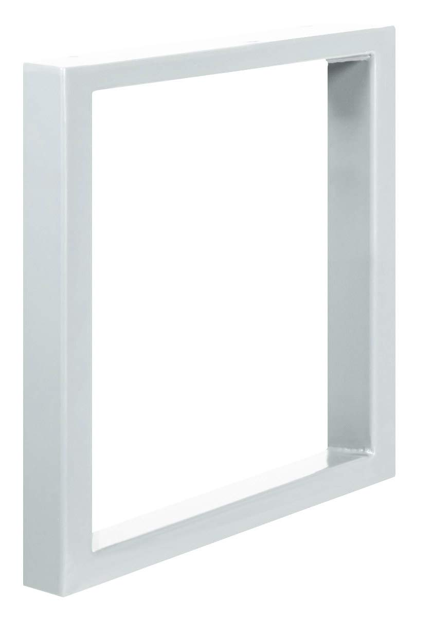 1 Pieza HOLZBRINK Patas de Mesa perfiles de acero 60x30 mm forma de marco 80x72 cm Gris Antracita HLT-01-D-FF-7016