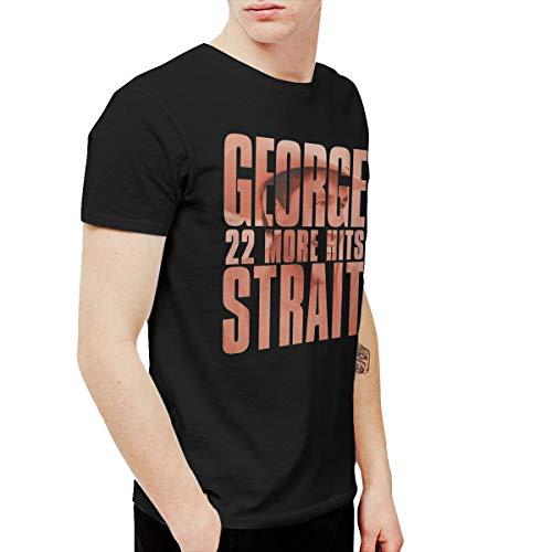 BowersJ George Strait 22 More Hits Men's Tshirt Black XL