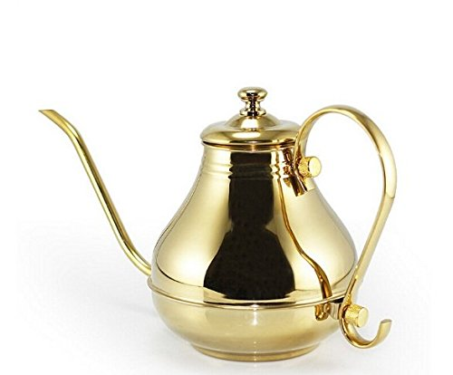 Fashion Durable 1.5L stainless steel Water Kettle Teapot convenient for tea or coffee drinking tetera 16cm7.5cm