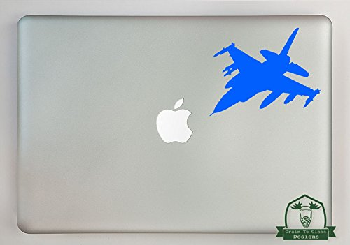 F-16 Pilots - F-16 Fighting Falcon Vinyl Decal Sized To Fit A 11