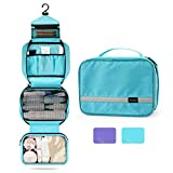 Hanging Toiletry Bag, Maxchange Travel Toiletry Bag | Foldable Dopp Kit with Large