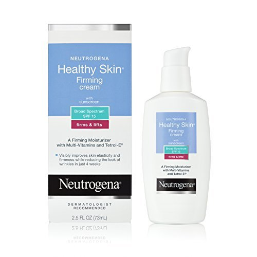Neutrogena Healthy Skin Firming Cream SPF 15, 2.5 Ounce - Buy Packs and SAVE (Pack of 2)