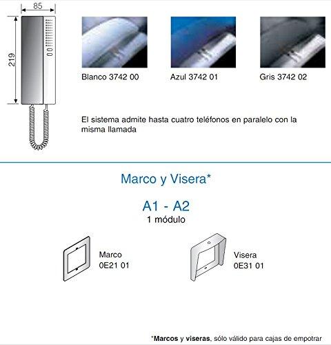 Legrand Bticino//a1-Kit avec plaque et s7 t/él/éphone