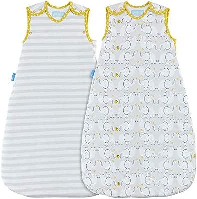 Grobag - Saco de dormir, diseño de elefante Talla:6-18 ...