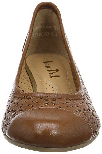 Van Dal 2672, Zapatos de Cuña Mujer Marrón (Tan)