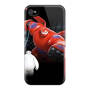IanJoeyPatricia Iphone 4/4s Best Hard Phone Cases Unique Design Trendy Big Hero 6 Pictures [YIL14518kDWN]