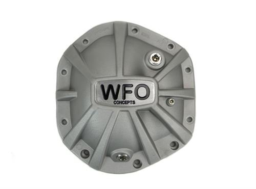 WFO Concepts D44 Xtreme Aluminum Differential Cover Front or (Stainless Rear Differential Cover)