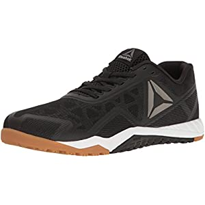 Reebok Men's Ros Workout TR 2.0 Cross-Trainer Shoe, Black/RBK Rubber Gum/Whit, 11 M US
