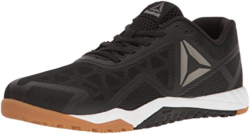 Reebok Men's ROS Workout TR 2.0 Cross-Trainer Shoe, Black/RBK Rubber Gum/Whit, 11 M US