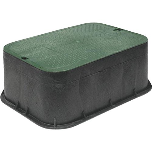 NDS 115 Standard Series Extension with Overlapping Cover, 14-Inch by 19-Inch by 6-Inch, Green