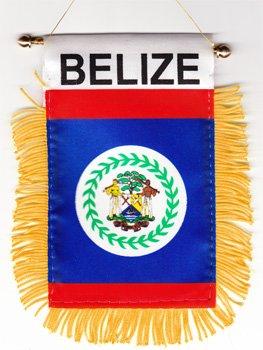 amazon com belize window hanging flag garden outdoor