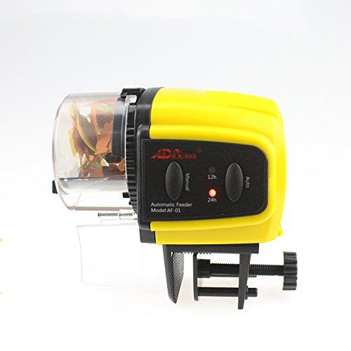 Ada automatic fish feeder aquarium tank auto fish food for Fish tank auto feeder