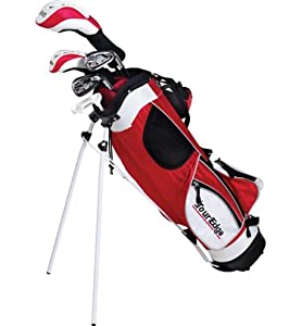 Tour Edge HT Max-J Set (Junior's, Ages 9-12, 5 Club Set, Left Handed, with Bag) by Tour Edge