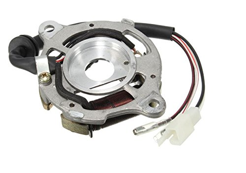 Magneto Assembly - MD Group Motorcycle Ignition Magneto Coil Assembly Stator For Yamaha PW50 PW 50 QT50