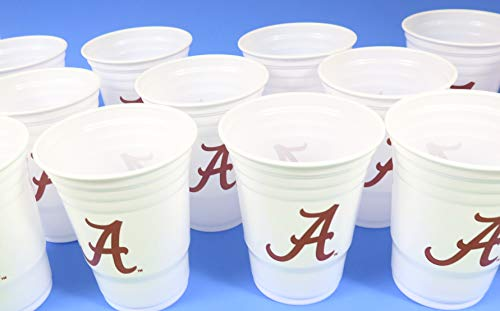 - Siskiyale sports Alabama University Barbecue Cookout 4th of July Jumbo Party Cups Set of 36. Large Plastic Colorful 18 oz. Game Day Plastic Cups