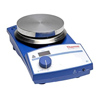 """Thermo Scientific SP87325 Safe-T SH9 Analog Explosion-Proof Stirring Hot Plate with 9.1"""" x 9.1"""" Aluminum Heating Plate, 120V"""