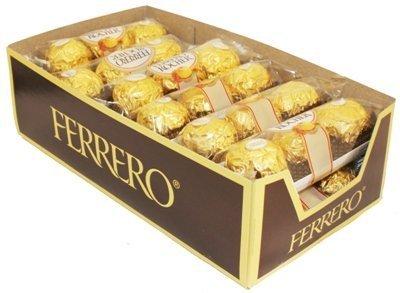 (Ferrero Rocher Hazelnut Chocolate 12/3Pk - TJ11 )