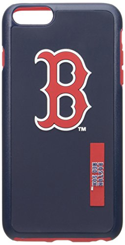 Forever MLB Boston Red Sox iPhone 6 Plus Dual Hybrid Case (2 Piece), Red Boston Red Sox Mlb Slippers