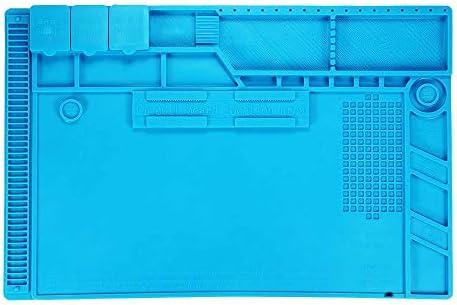 TOOGOO S-170 Isolierte Silikon L?t Station Für Desktop Reparatur Platt Formen Für Magnetische Reparatur Stationen