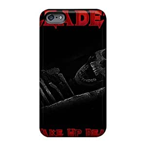 JohnPrimeauMaurice Iphone 6plus Shock Absorption Hard Phone Cover Unique Design Nice Megadeth Band Skin [SiI18969KeLZ]