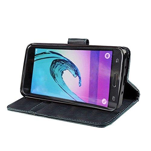 Vodafone Smart Turbo 7 - Funda de Piel con Tapa magnética y función Atril para Vodafone Smart Turbo 7, Black Book, Xperia X Mini/X Compact: Amazon.es: ...