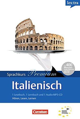Lextra - Italienisch - Sprachkurs Premium: B1 - 2 Selbstlernbücher mit MP3-CD
