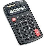 Calculadora de Bolso 8 Dígitos em Blister, Elgin 42CB14850000, Preta