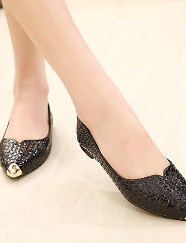 de us6 talón blanco eu37 PDX de 5 zapatos Flats Casual 7 white cn37 negro rosa mujer plano uk4 comodidad 5 5 dwwOqC