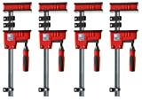 Bessey KR3.524 24-inch K-Body REVO Large Parallel Clamps Woodworking 4-Pack