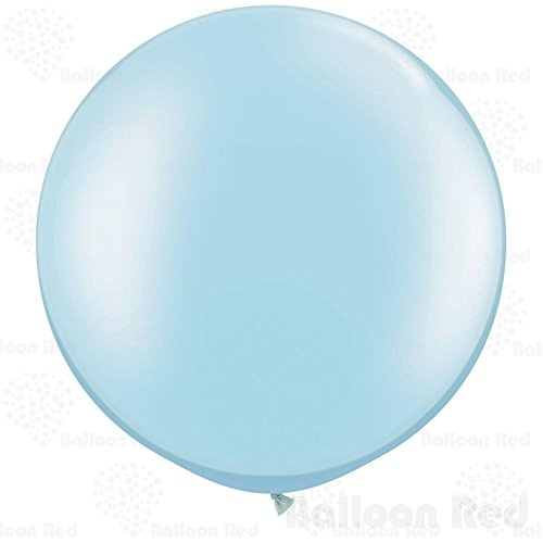 Rainbow Bright Homemade Costume (36 Inch Giant Jumbo Latex Balloons (Premium Helium Quality), Pack of 12, Round Shape - Baby Blue)