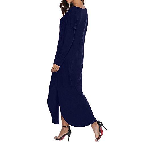 para Vestido Amarine Mujer SANFASHION Bekleidung Manga Trapecio Corta v7OxxPUqw