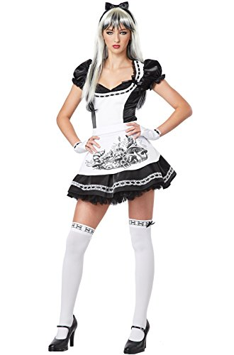 California Costumes Dark Alice Teen Costume-11-13 (Alice Teen Costume)
