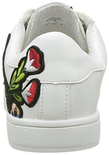 Temps Des Baskets Blanc flower Cerises Le Sacha Femme White Basses Hpxqq4
