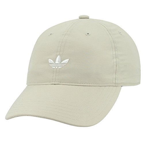 adidas Men's Originals Relaxed Strapback Cap, Light Khaki, One Size