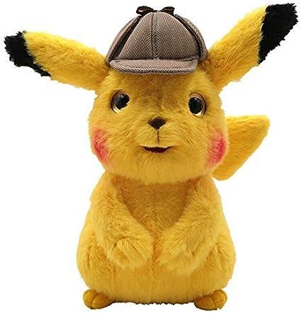 Amazon Com Latim Detective Pikachu Plush Stuffed Animal Toy 9