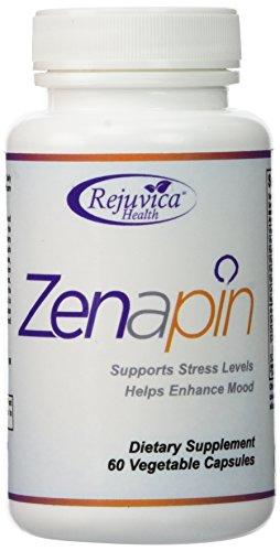 (Zenapin - Top Calming Supplement with 6 Stress Fighting Ingredients - GABA, Magnesium, St. John's Wort, Chamomile, 5-HTP, Ashwagandha, B-Vitamins and More)
