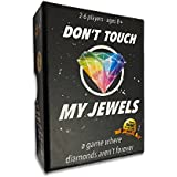 Don't Touch My Jewels - A Quick Strategic Card Game, Best for Adults, Families, Teens, Kids 8 Years and up, and Couples. 2-6 Players. Voted #1 for Party Games and Card Games. Hard Durable Box