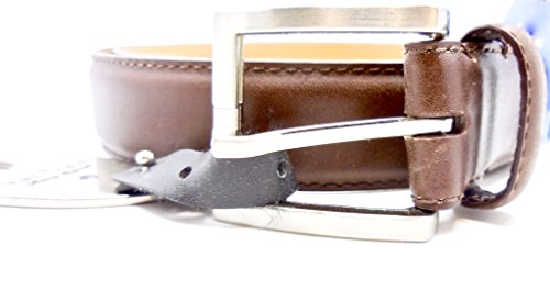 Nat Nast Belt Luxury Italian Leather Nordstrom Rack  38  Brown Shiny