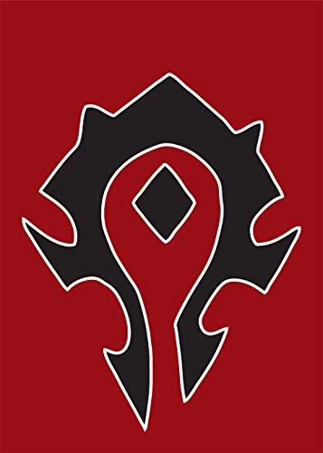 Warcraft Garden Flag | Horde | 12.5 x 18 in (Horde Flag)