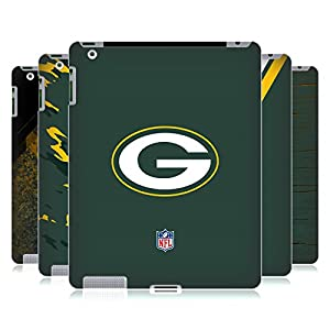 Official NFL Green Bay Packers Logo Hard Back Case for Apple iPad 3 / 4