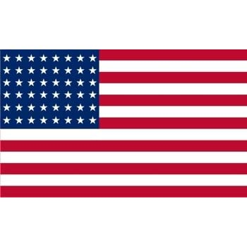 Bandera americana de nylon X 3 pies