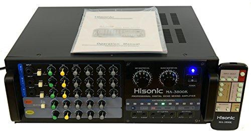 Watts Professional Digital Mixing Amplifier (600w Karaoke Mixing Amplifier)