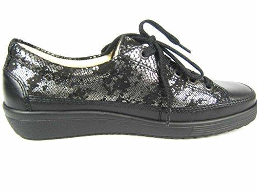 Dietz, Christian 9541961-45 - Zapatos de cordones para mujer negro