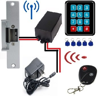 Door Access Control System Controller ABS Case RFID Reader(Single) - 7