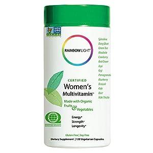 Rainbow Light, Certified Women's Multivitamin, 120 Veggie Capsules