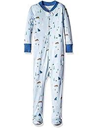 Kids' Organic One-Piece Footed Pajamas