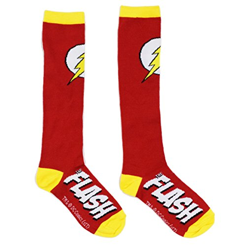 Zoom Sock (DC Comics The Flash Knee High Socks)