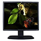 19'' HP L1955 DVI 720p Rotating LCD Monitor w/USB Hub (Black) - Rotates to Portrait or Landscape View!