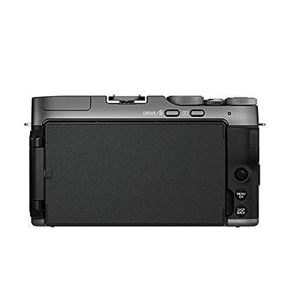 "Fujifilm X-A7 24.2 MP Mirrorless Camera with XC 15-45 mm Lens (APS-C Sensor, Large 3.5"" Vari-Angle Touchscreen, Face/Eye Auto Focus, 4K Video Vlogging, Blur Control, Film Simulations) - Dark Silver 4"